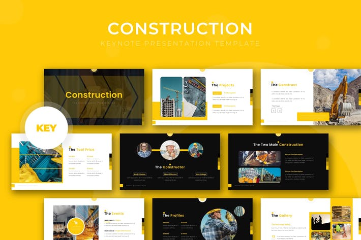 Construction - Keynote Template