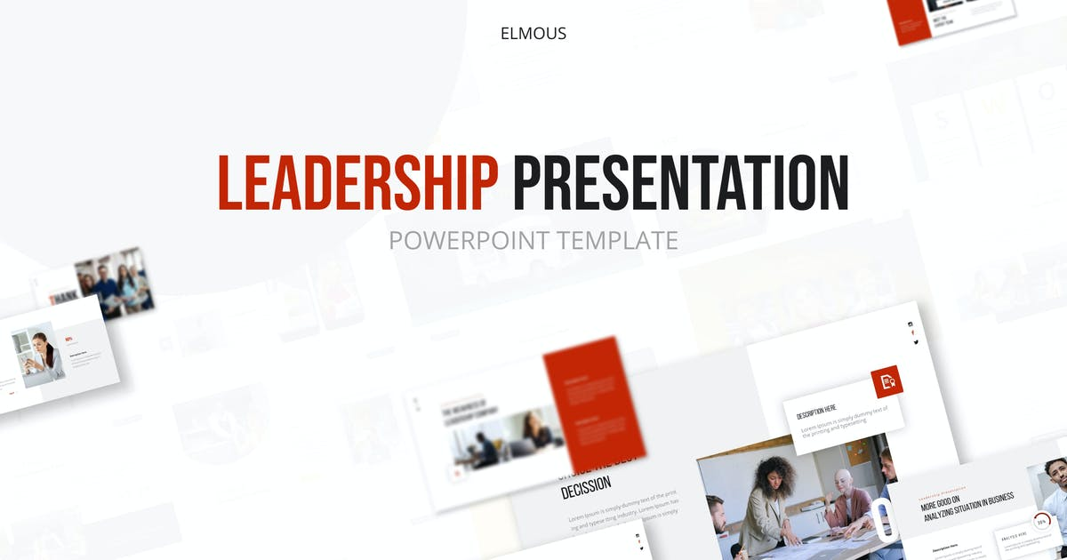 Download Leadership Powerpoint Presentation Template by elmous