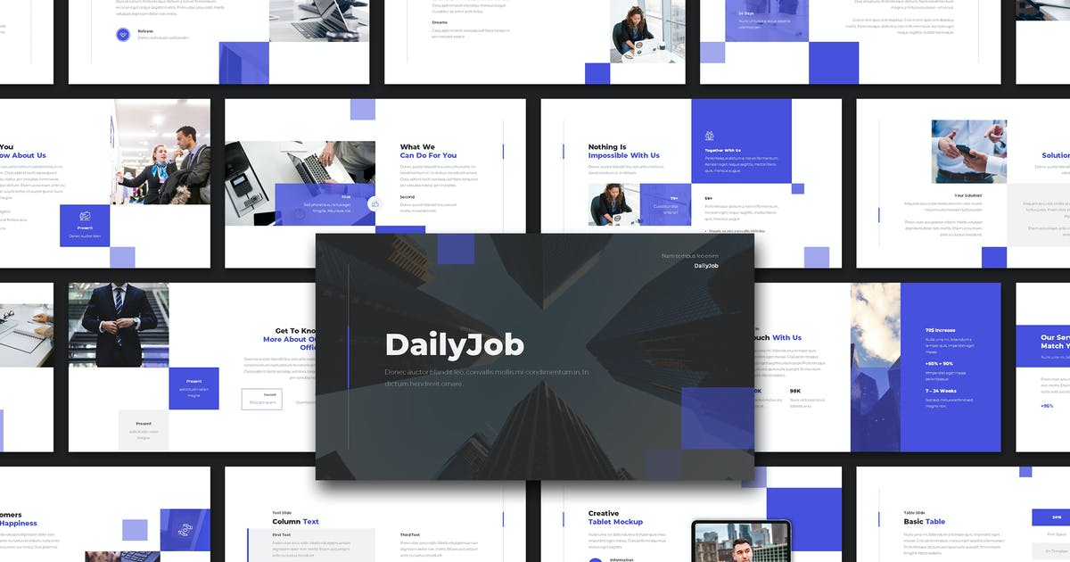 Download DAILYJOB - Business Presentation by celciusdesigns
