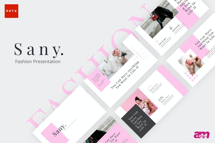 Thumbnail for Sany Fashion Powerpoint