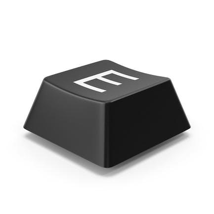 Кнопка клавиатуры E