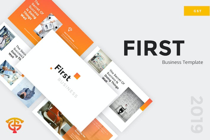 Thumbnail for First Business - Google Slides