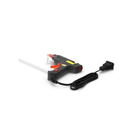 Mini Heißklebepistole gefaltet