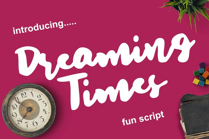 Thumbnail for Dreaming Times - Playful Script