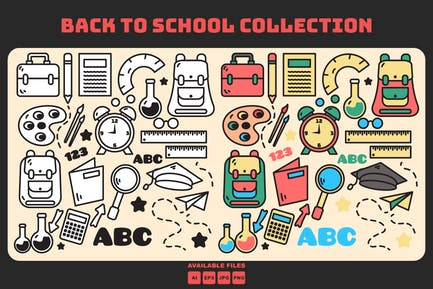 Doodle Back To school Collection