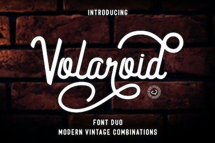Volaroid - Font Duo