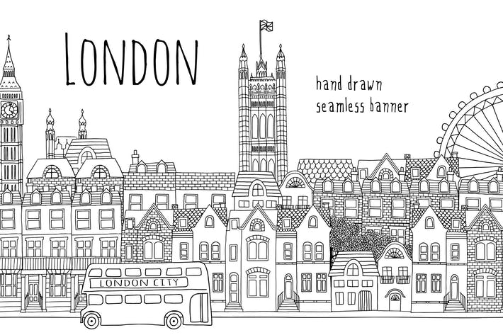 Thumbnail for Londres - bannière sans couture