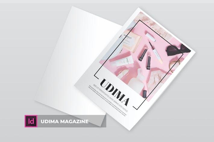 Thumbnail for Udima | Magazine Template