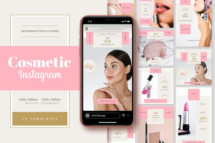 Thumbnail for Cosmetic Shop Instagram