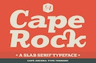 CA Cape Rock