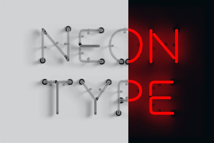 Cover Image For Neon Type