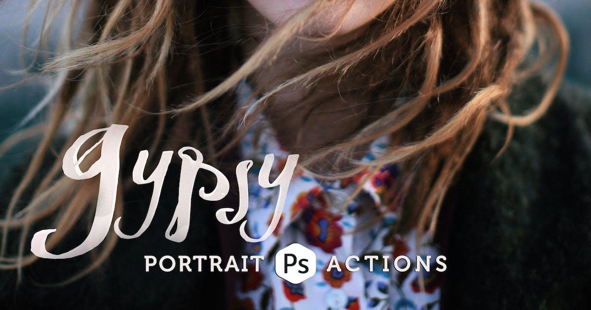Download Gypsy Portrait Photoshop Actions by Presetrain