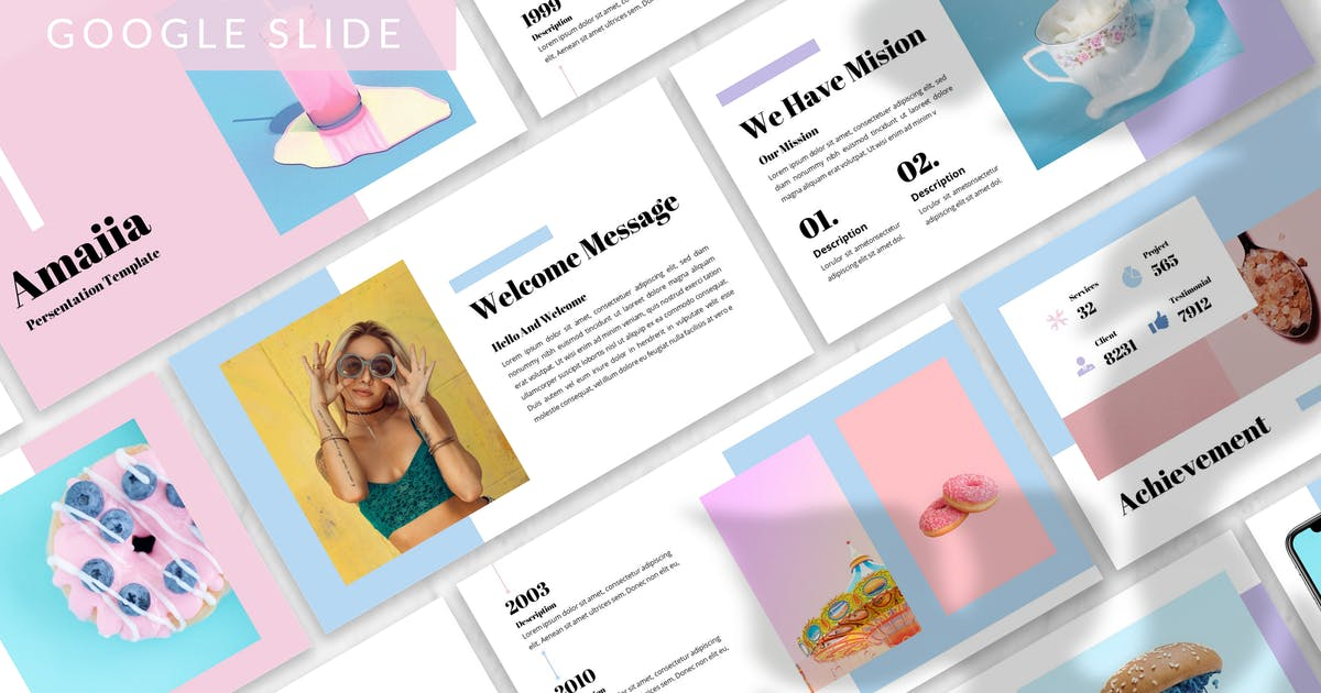 Download Amaiia - Creative Google Slide Template by designesto