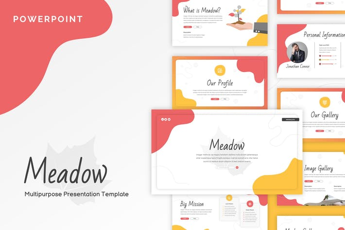 Thumbnail for Meadow - Creative Powerpoint Template
