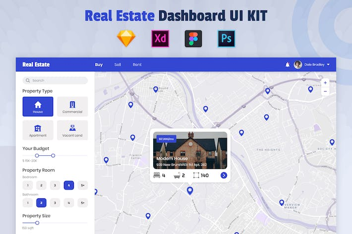 Thumbnail for Nuzie - Map Dashboard