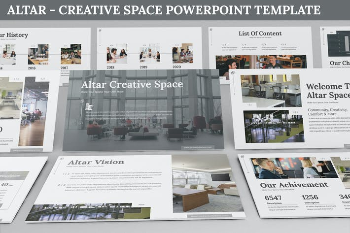 Thumbnail for Altar - Creative Space Powerpoint Template
