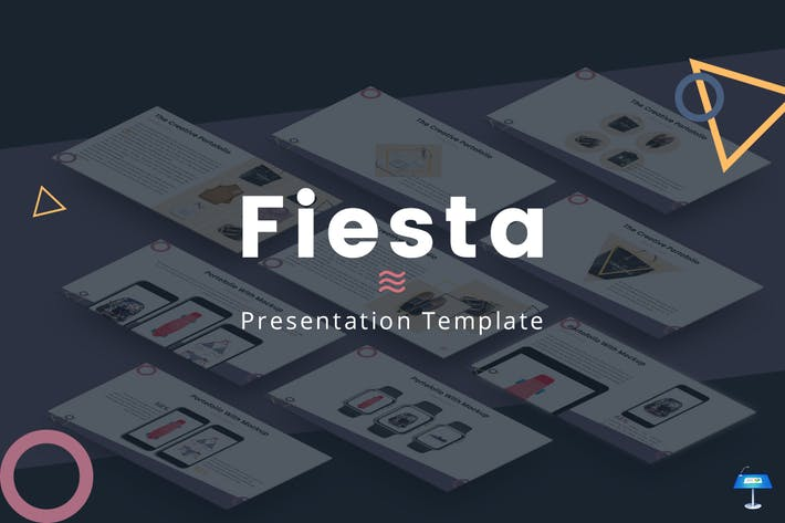 Thumbnail for Fiesta - Keynote Template
