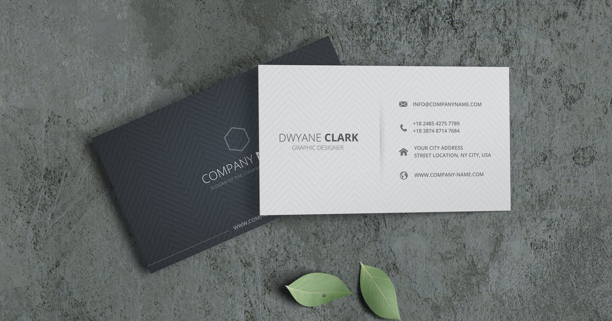 Download Minimalist Business Card Mockup Vol. 3.4 by indotitas