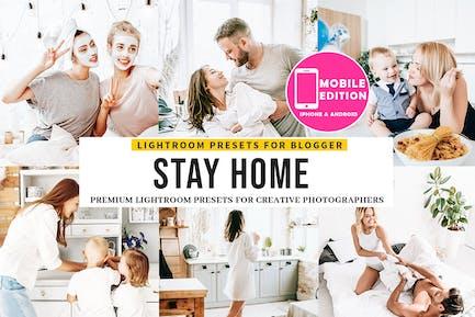 Stay Home Lightroom Presets