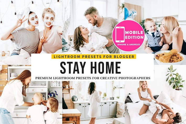 Thumbnail for Stay Home Lightroom Presets