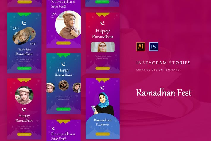Ramadhan Fest Instagram Story