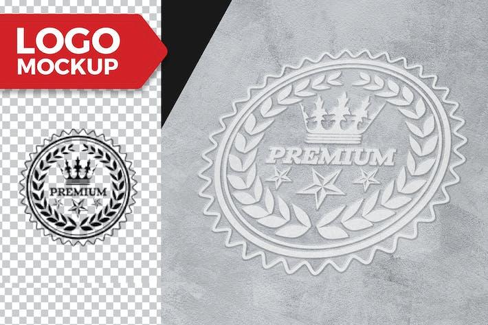 Thumbnail for Уличный Логотип Mock-UP