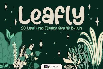 Leafly - Кисть для штампов