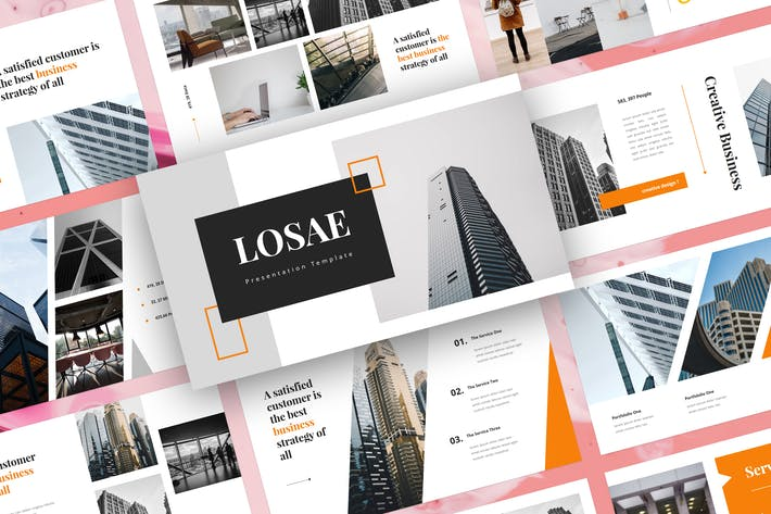Thumbnail for Losae - Business PowerPoint Template