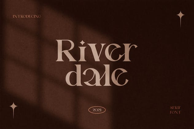 Riverdale Serif Font