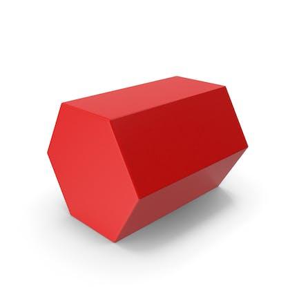 Hexagon Red
