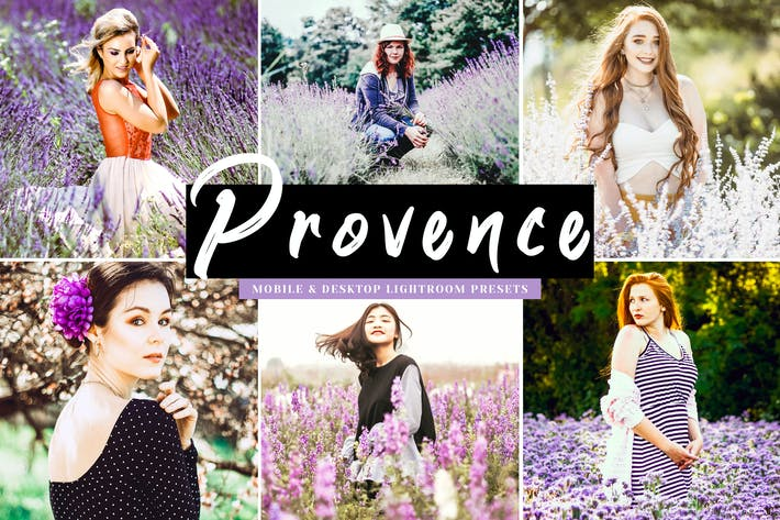 Thumbnail for Provence Mobile & Desktop Lightroom Presets