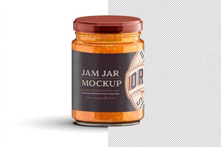 Thumbnail for Jam  Jar Mockup