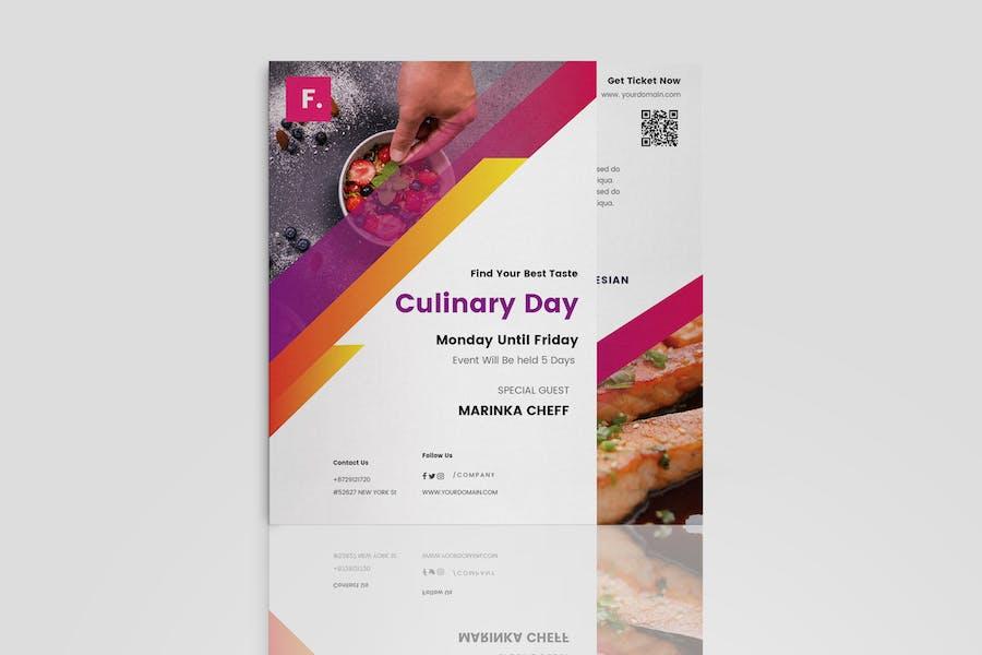 Food Festival Brochure