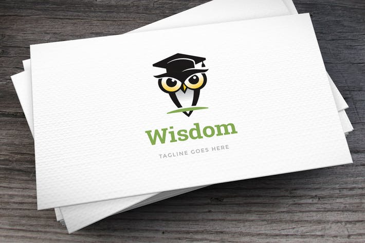 Thumbnail for Wisdom Logo Template