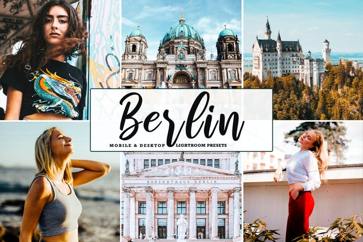 Thumbnail for Berlin Mobile & Desktop Lightroom Presets