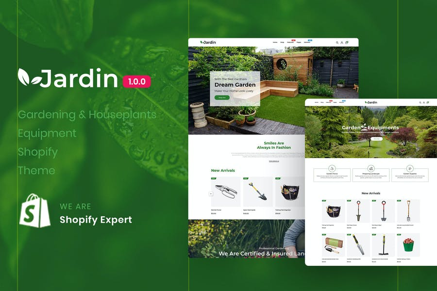 Jardin - Gardening & Houseplants Equipment Shopify