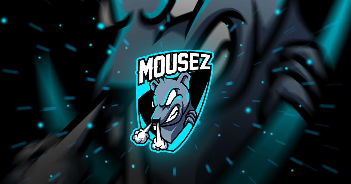 Download mousez - Mascot & Esport Logo by aqrstudio