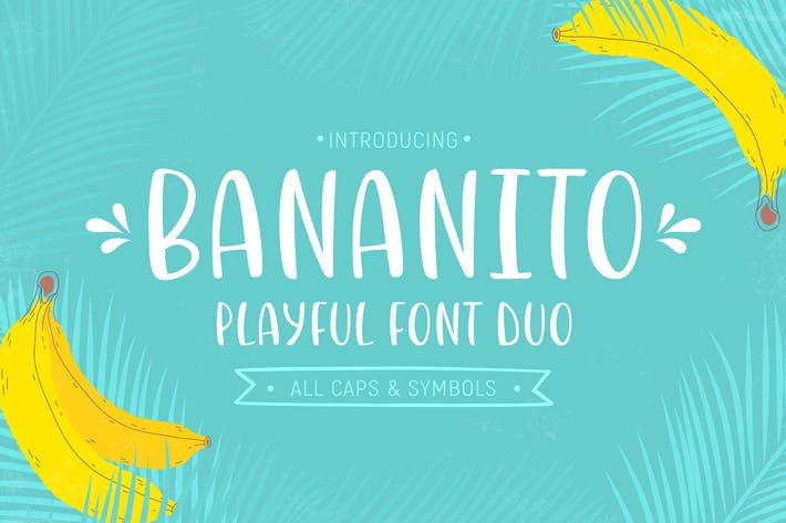 Thumbnail for Bananito Font Duo