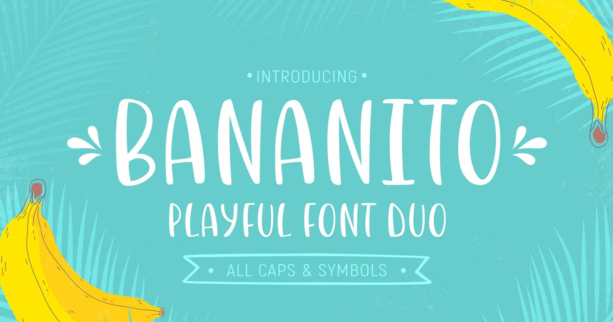 Download Bananito Font Duo by Yuzach