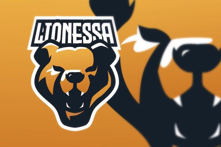 Thumbnail for Lioness E Sport Logo Illustration