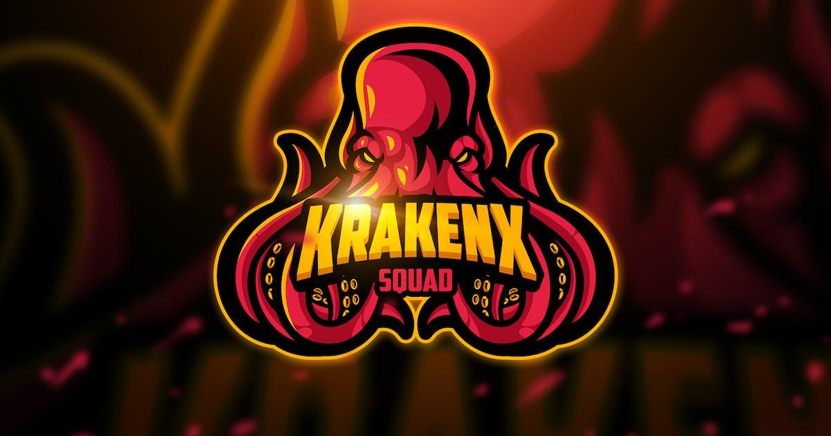 Download Krakenx - Mascot & Esport Logo by aqrstudio