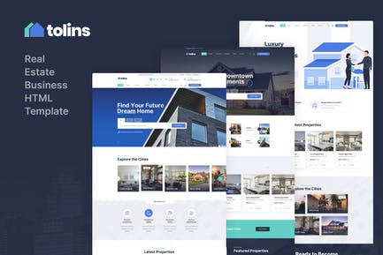 Tolips - Real Estate Business HTML Template