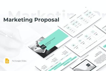 Marketing Proposal Google Slides Template