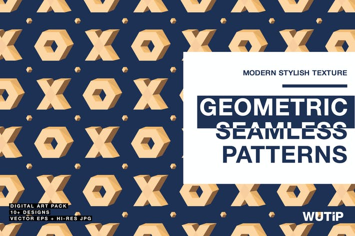 Thumbnail for Geometric Seamless Patterns