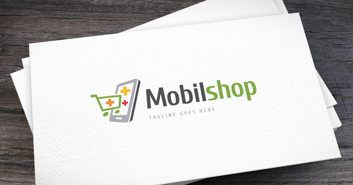 Mobil Shop Logo Template by empativo