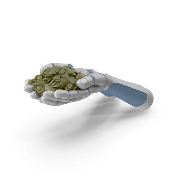 Robot Hands Handful with Seeds