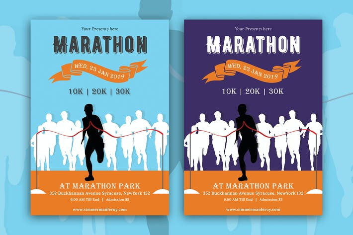 Thumbnail for Marathon Event Flyer-05