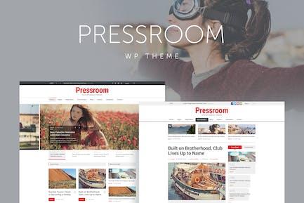 Pressroom - News and Magazine WordPress Theme