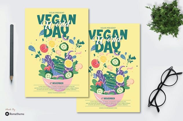 World Vegan Day Vol.02 - Flyer AS