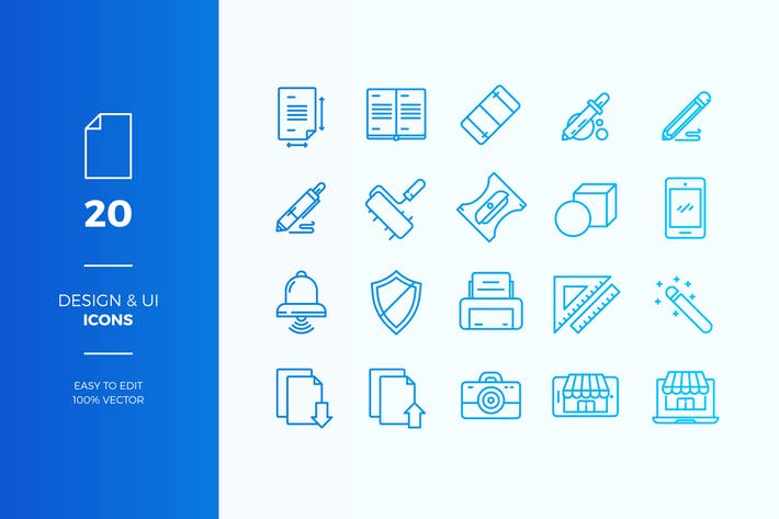 Thumbnail for Webshop icons pack